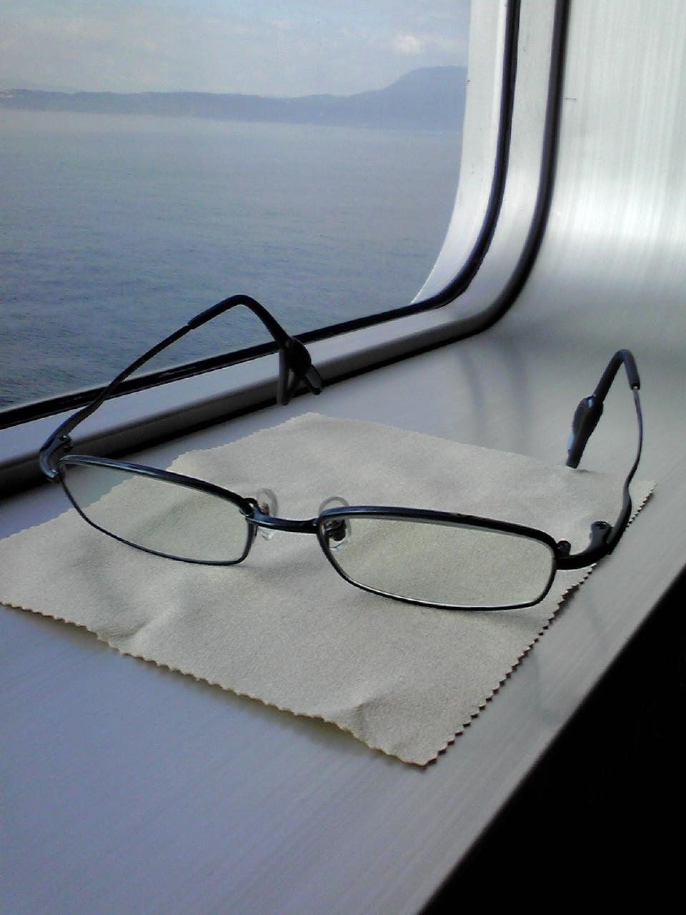 メガネ出来ました